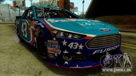 NASCAR Ford Fusion 2013 für GTA San Andreas Rückansicht