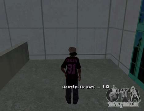 Cleo Fight Speed pour GTA San Andreas