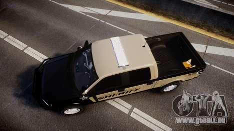 Ford F150 2010 Liberty County Sheriff [ELS] für GTA 4 rechte Ansicht