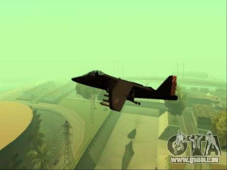 McDonnell Douglas AV-8B Harrier II Beta für GTA San Andreas rechten Ansicht