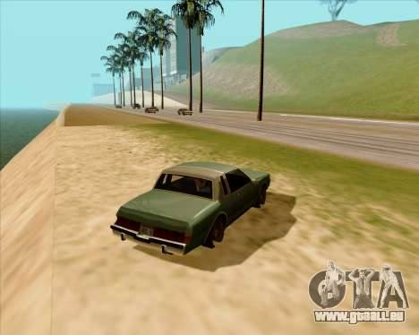 Real ENB Series pour GTA San Andreas deuxième écran