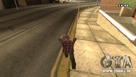 Gemischte Kampfkünste für GTA San Andreas dritten Screenshot