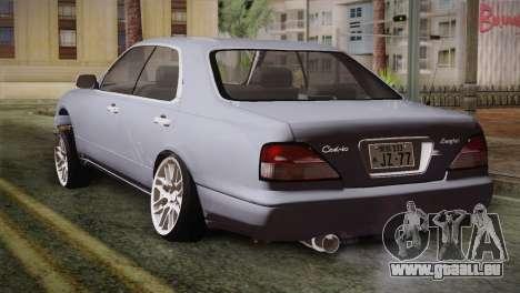 Nissan Cedric pour GTA San Andreas laissé vue