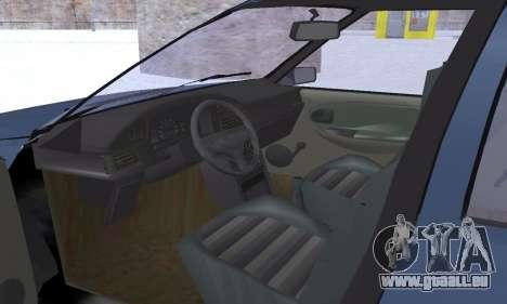 Dacia Super Nova für GTA San Andreas Innen