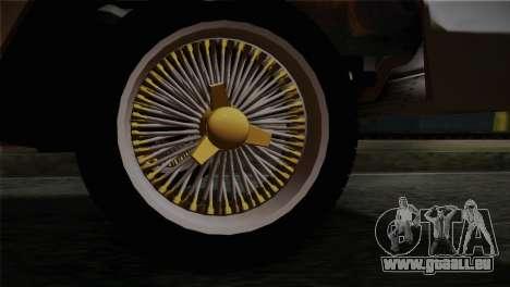 Chevrolet Impala pour GTA San Andreas sur la vue arrière gauche