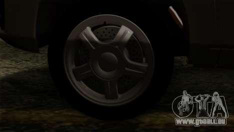 Lada Granta Liftback pour GTA San Andreas vue de droite