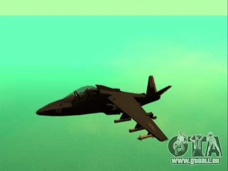 McDonnell Douglas AV-8B Harrier II Beta für GTA San Andreas linke Ansicht