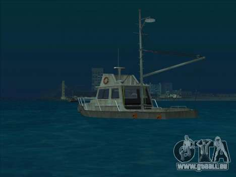Reefer из GTA 3 für GTA San Andreas zurück linke Ansicht