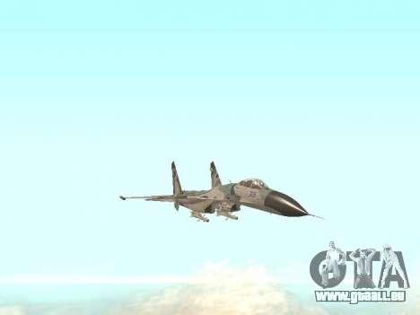 Su 27 für GTA San Andreas