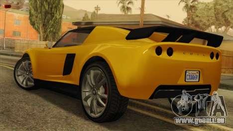 GTA 5 Coil Voltic v2 SA Mobile pour GTA San Andreas laissé vue