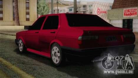 Volkswagen Senda pour GTA San Andreas laissé vue