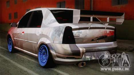Dacia Logan Most Wanted Edition v1 pour GTA San Andreas laissé vue