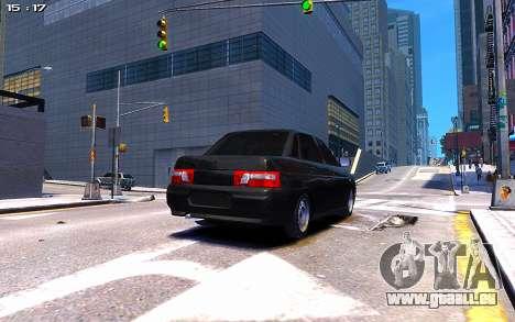 Lada 2110 pour GTA 4 est une gauche