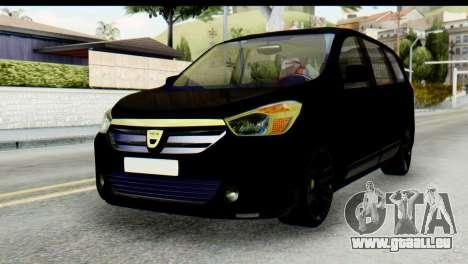 Dacia Lodgy pour GTA San Andreas
