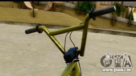 GTA 5 BMX pour GTA San Andreas sur la vue arrière gauche