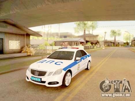 Mercedes-Benz E500 ДПС pour GTA San Andreas