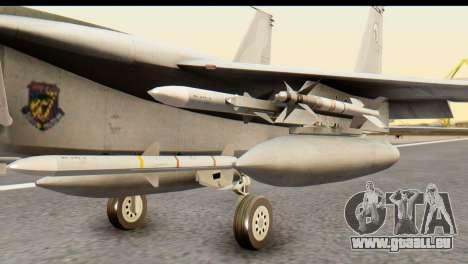 F-15DJ Mitsubishi Heavy Industries für GTA San Andreas rechten Ansicht