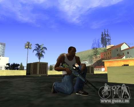 Skins Weapon pack CS:GO für GTA San Andreas zweiten Screenshot