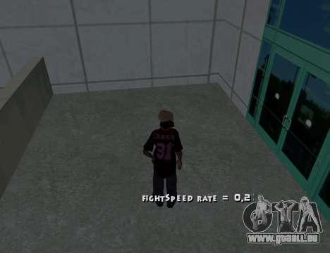 Cleo Fight Speed für GTA San Andreas zweiten Screenshot
