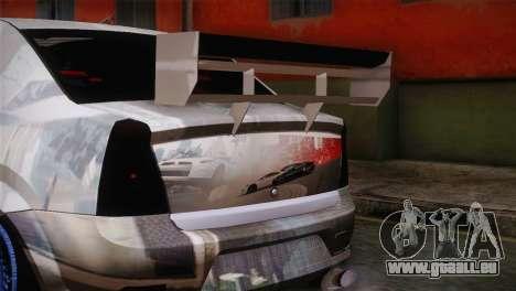 Dacia Logan Most Wanted Edition v1 pour GTA San Andreas vue de droite