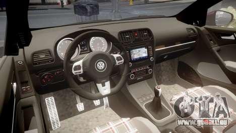 Volkswagen Golf Mk6 GTI rims2 für GTA 4 Innenansicht