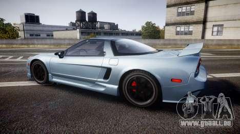 Honda NSX 1998 [EPM] pour GTA 4 est une gauche