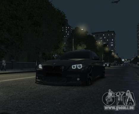 BMW M5 F10 2014 für GTA 4 Rückansicht