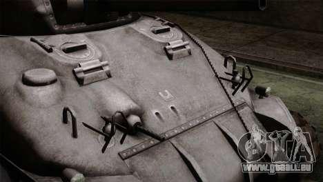M4 Sherman für GTA San Andreas zurück linke Ansicht