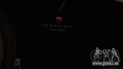 GTA 5 Invetero Coquette v2 IVF pour GTA San Andreas vue de droite