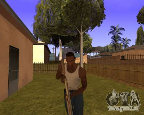 New Animation by EazyMo pour GTA San Andreas cinquième écran