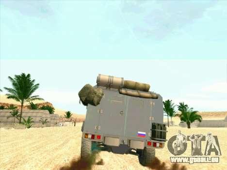 Blindés De L'Ours pour GTA San Andreas vue de droite