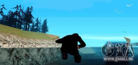 Marcher sur l'eau pour GTA San Andreas troisième écran