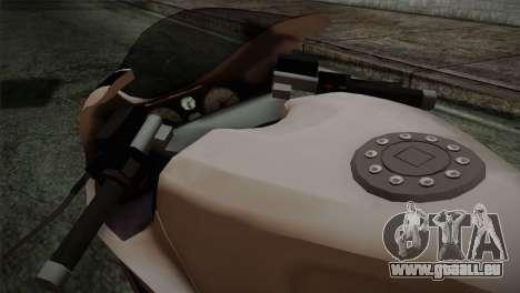 GTA 5 Bati Police pour GTA San Andreas vue de droite