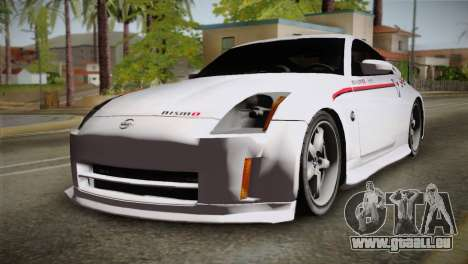 Nissan 350Z Nismo für GTA San Andreas