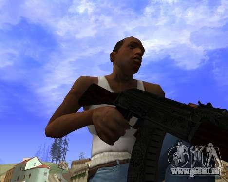 Skins Weapon pack CS:GO für GTA San Andreas neunten Screenshot