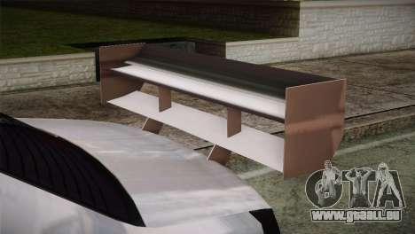 Dacia Logan Most Wanted Edition v2 pour GTA San Andreas vue de droite