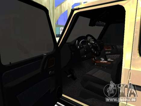 Mercedes-Benz G65 AMG pour GTA San Andreas vue arrière
