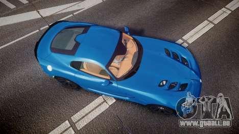 Dodge Viper SRT 2013 rims2 für GTA 4 rechte Ansicht