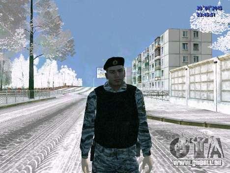 Les OMON de chasse pour GTA San Andreas