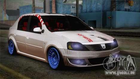 Dacia Logan Most Wanted Edition v3 pour GTA San Andreas