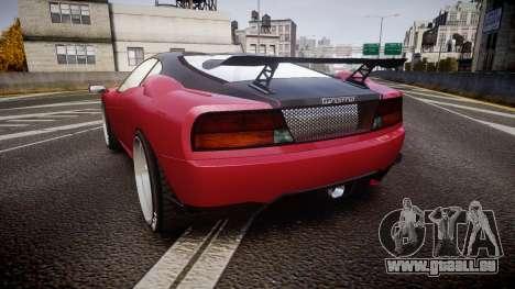 Grotti Turismo GT Carbon v3.0 pour GTA 4 Vue arrière de la gauche