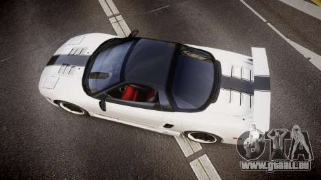 Honda NSX 1998 [EPM] nsx-r pour GTA 4 est un droit