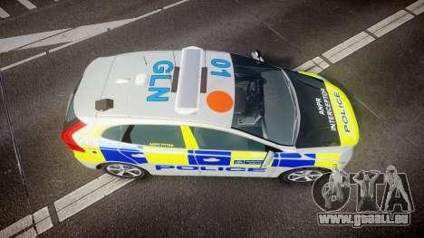 Volvo V40 Metropolitan Police [ELS] pour GTA 4 est un droit