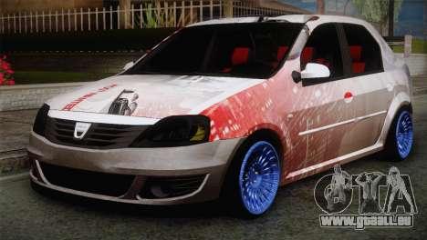 Dacia Logan Most Wanted Edition v2 pour GTA San Andreas