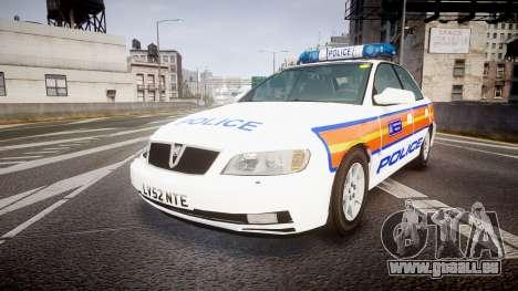 Vauxhall Omega Metropolitan Police [ELS] für GTA 4