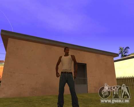 New Animation by EazyMo pour GTA San Andreas deuxième écran