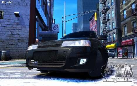 Lada 2110 für GTA 4 hinten links Ansicht