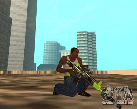 Sharks Weapon Pack pour GTA San Andreas cinquième écran