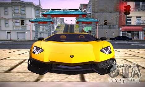 ENB par Dmitriy30rus pour la faiblesse du PC pour GTA San Andreas deuxième écran