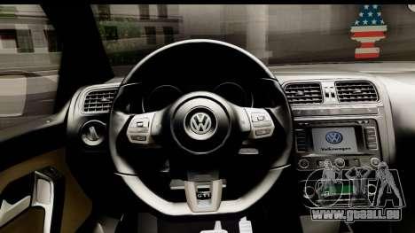 Volkswagen Polo GTI für GTA San Andreas Rückansicht
